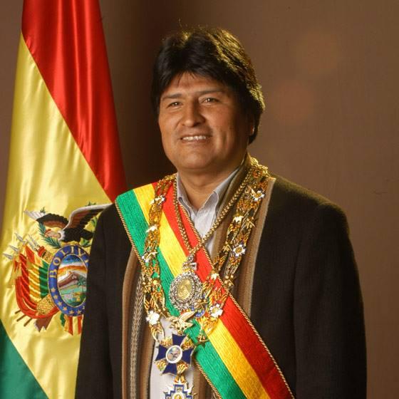 Presidente boliviano intima Chefes de Estado europeus a quitarem a dívida estratosférica que a Europa possui com a América Latina.