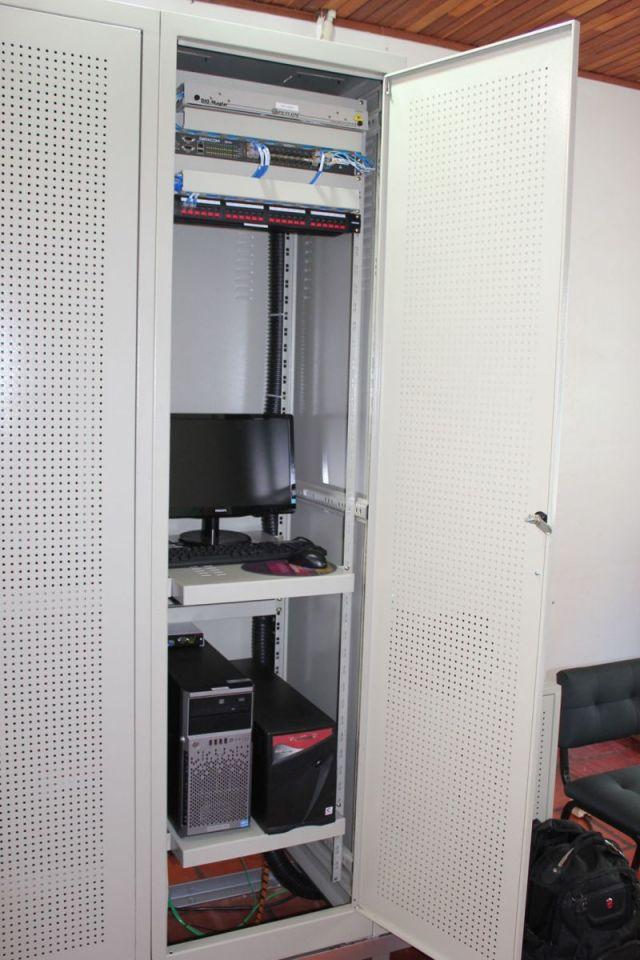 Na Prefeitura ficam os equipamentos para gerenciar rede do Cidade Digital