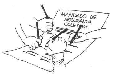 Resultado de imagem para MANDADO DE SEGURANÇA COLETIVO