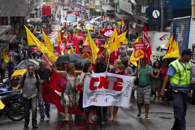 Professores fizeram ato pela nomeação de concursados | Foto: Filipe Castilhos/Sul21