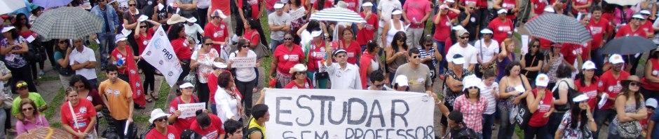 Professores do GDF em Assembléia decidem suspender as aulas até dia 27.