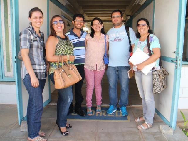 Professores e Professoras que participaram da reunião com a Terceira DIREC