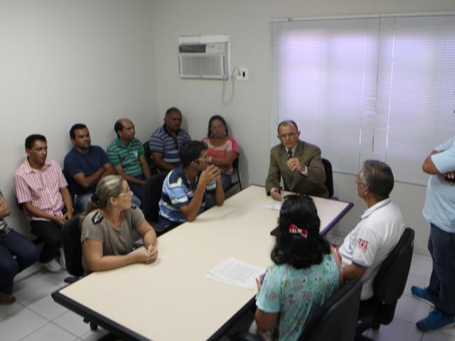 Foto da reunião com MPRN