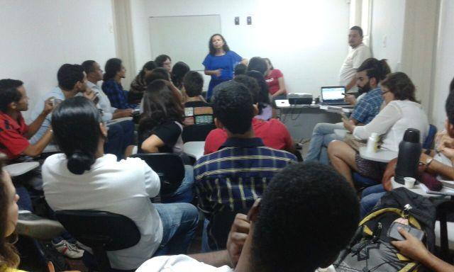 1ª Reunião de Diálogo sobre a Conferência Estadual de Juventude, aberta pela Secretária Extraordinária de Juventude, Divaneide Basílio