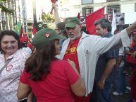 Advogada Ana Lia Gomes e o Presidente da CTB Moacir