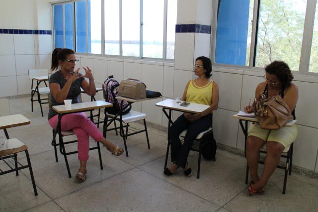 Roda de diálogo com professores\as em Macau\RN