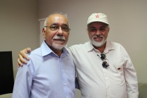Secretário Francisco das Chagas recebendo delegação da CTB EDUCAÇÃO, encontro agendado pelo Presidente da CTB Moacir Soares. (na foto)